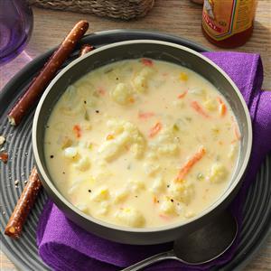Watch Us Make: Cauliflower Soup