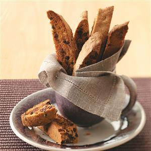 Chai-Chocolate Chip Biscotti Recipe