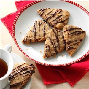 Chai Chocolate Chip Shortbread Recipe