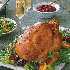 Champagne-Basted Turkey Recipe