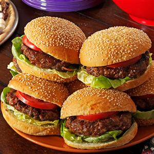 Cheddar & Bacon Burgers Recipe