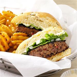 Cheddar-Bacon Burgers Recipe