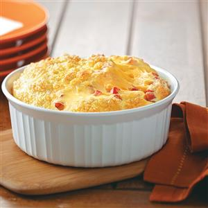 Cheese Tomato Egg Bake Recipe