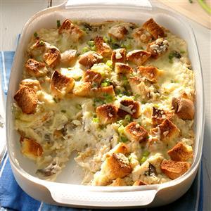 Cheesy Bacon Ranch Potato Stuffing Recipe