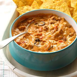 Cheesy Beef Taco Dip Recipe