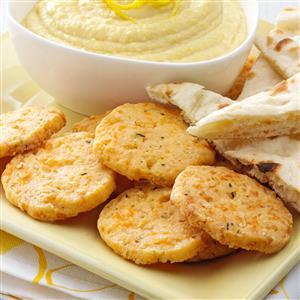 Cheesy Chive Crisps