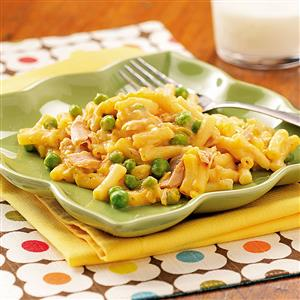 Cheesy Tuna Mac Recipe