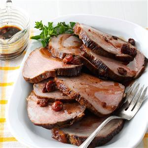 Cherry Balsamic Pork Loin Recipe