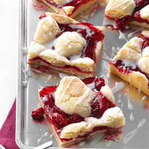 Watch Us Make: Cherry Bars