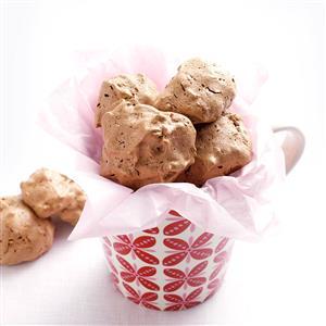 Cherry-Chocolate Coconut Meringues Recipe