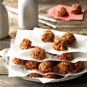 Cherry No-Bake Cookies Recipe