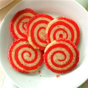 Cherry Pinwheel Cookies Recipe