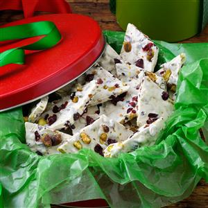 Cherry Pistachio Bark Recipe