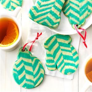 Chevron Ornament Cookies Recipe