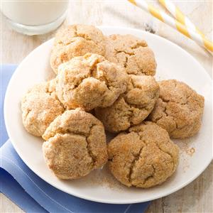 Chewy Whole Wheat Snickerdoodles Recipe