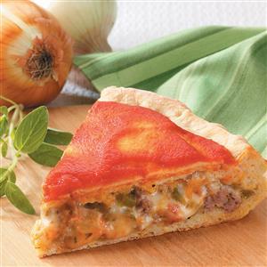 Chicago-Style Stuffed Pizza Recipe
