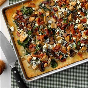 Chicken & Blue Cheese Pizza Recipe