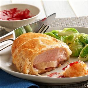 Chicken & Pear Bundles Recipe