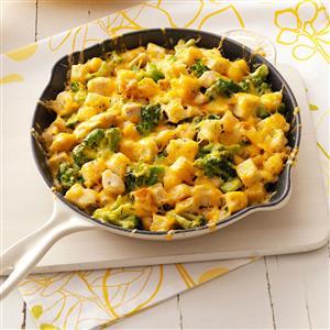 Chicken Cheese Strata Recipe