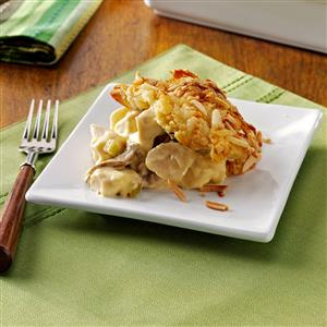 Chicken Crescent Amandine Recipe