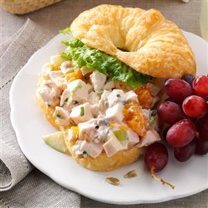 Chicken Croissant Sandwiches Recipe