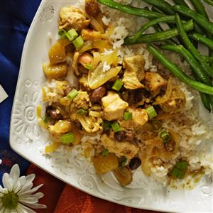 Chicken Curry for Two Recipe