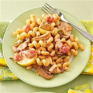 Chicken Fajita Alfredo Recipe