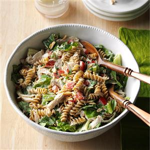 Chicken Pasta Caesar Salad Recipe