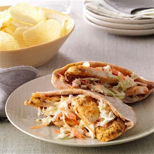 Chicken Pita Pockets Recipe