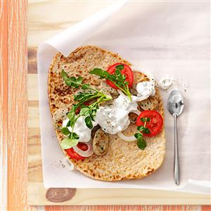 Chicken Sausage Gyros Recipe
