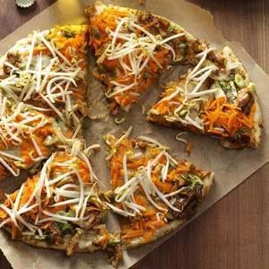 Chicken Thai Pizza Recipe