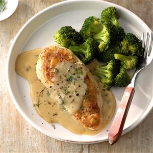 Chicken and Broccoli with Dill Sauce Recipe