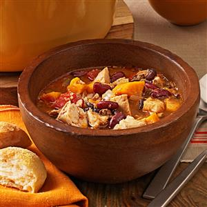 Chicken and Sweet Potato Chili Recipe