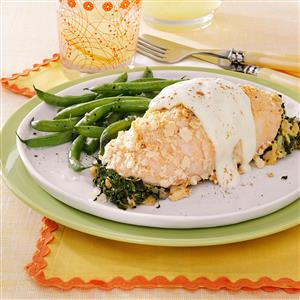 Chicken with Cheese Sauce Recipe