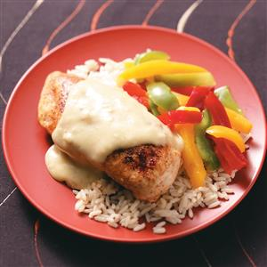 Chicken with Green Chili Sauce Recipe