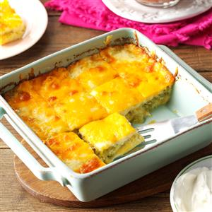 Chile Relleno Squares Recipe