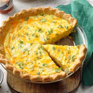 Chiles Relleno Quiche Recipe