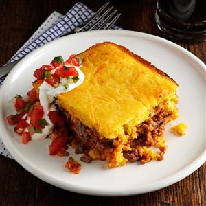 recipe: mexican cornbread casserole recipe ground beef [7]