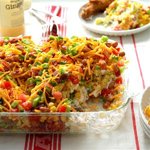 Chili Cornbread Salad Recipe