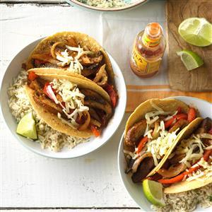 Chili-Lime Mushroom Tacos Recipe