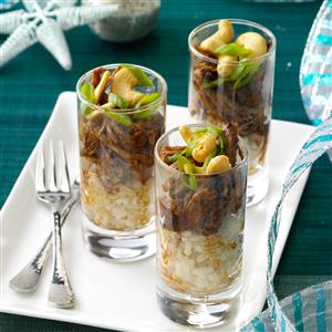 Chinese Barbecued Pork Parfaits Recipe