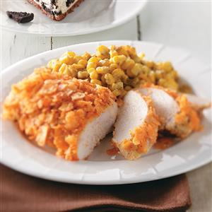 Chip-Crusted Chicken Recipe