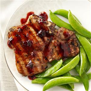 Chipotle-Raspberry Pork Chops Recipe