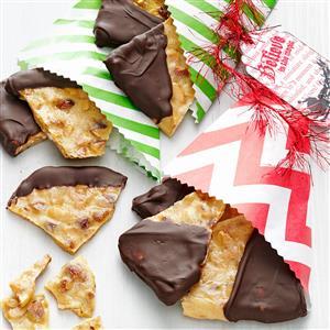 Chocolate Almond Brittle Recipe