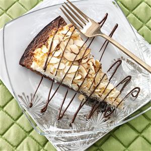 Chocolate-Almond Brownie Pizza Recipe