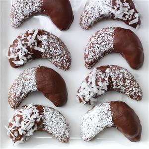 Chocolate Almond Crescents Recipe