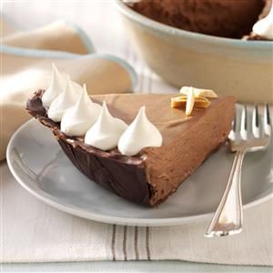 Chocolate-Amaretto Mousse Pie Recipe