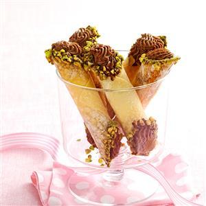 Chocolate Anise Cannoli Recipe