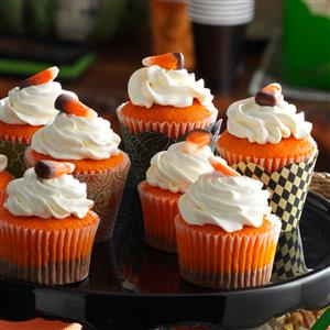 Chocolate Candy Corn Cupcakes Recipe