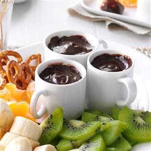 Chocolate Caramel Fondue Recipe